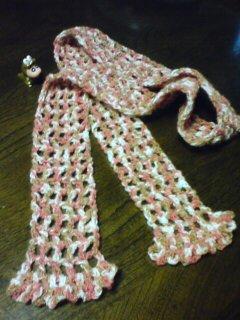 手編みストール