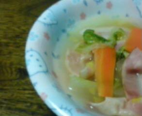 白菜ベーコン
