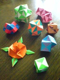広がる折り紙の世界